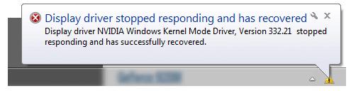 nvidia display driver crashing windows 10