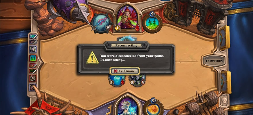 heartstone disconnect