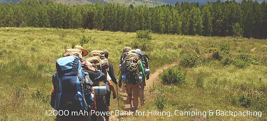 backpacking power bank