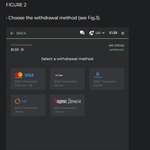 withdraw methods